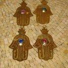 Hamsa - Hand Fatima Khamsa - Hamsa Hand- Hamsa Charm - eye of protection hamsa