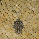 Hamsa Key Chain - Luck Kabbalah Amulet - Jewish Hamsa - Hamsa Charm Keychain