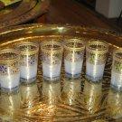 Moroccan tea glasses-Moroccan tea glass- Moroccan serving tea-Moroccan tea cups
