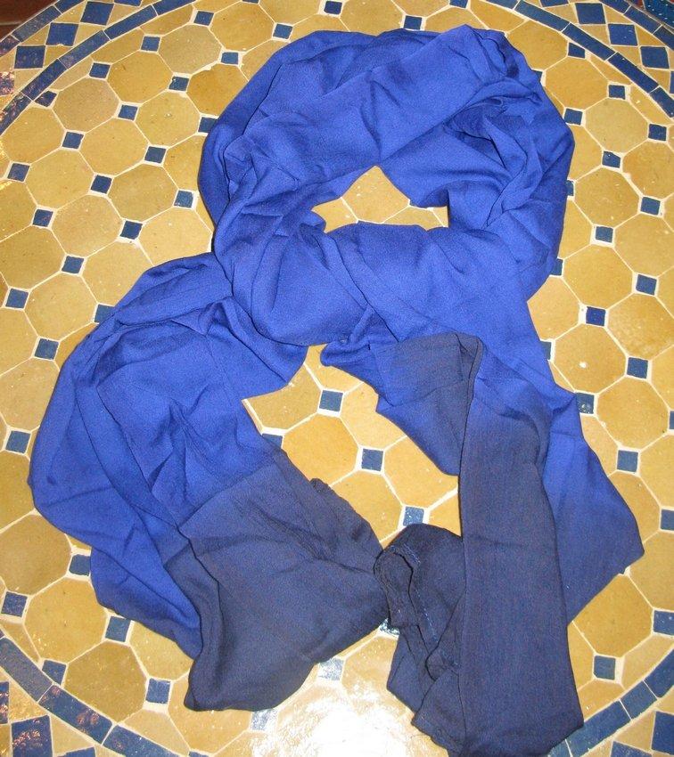 Moroccan Blue Scarf-Tuareg Blue Scarf-Tuareg Scarf-Tuareg Turban-Moroccan scarf