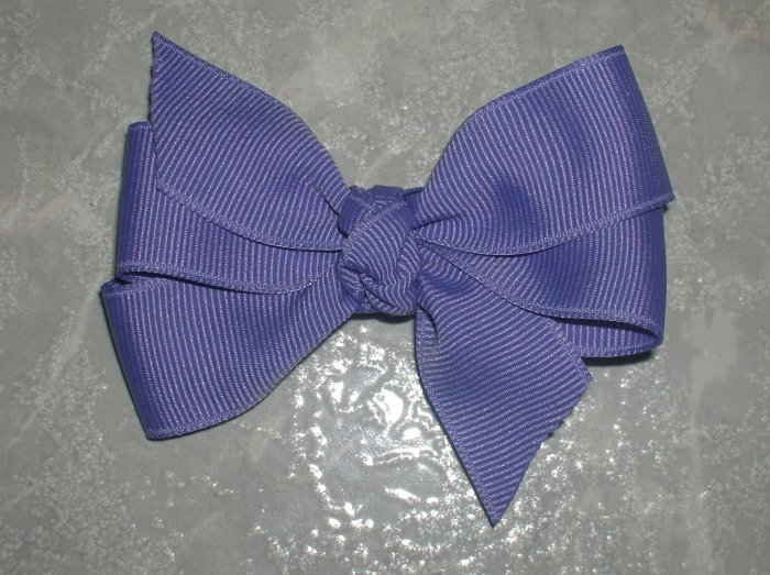 Set of 5 Basic Bows with Tails - 3 Inch ~ You choose colors!!