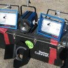 BERKEY COLORTRAN Photography Fresnel 3 LIGHT Set KIT 500-1000w 1kw watt case