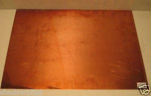 "Copper Polished Sheet Metal 32 oz. Sheet Plate 22.5"" x 19.25"""