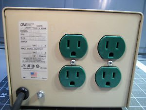 ONEAC CP1110 8.4 amps Power Conditioner in Excellent!!! Condition 120v