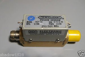 BIRD Electronic Thruline Power Sensor 4D10 10W 200-500 Mhz
