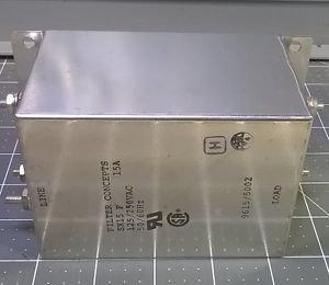 NEW Filter Concepts SX15 F 15 Amp 125/250 VAC 50/60 Hz
