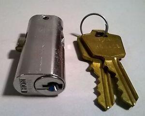 Vintage NOS Hon Plunger Lock Core File Desk Cabinet Key