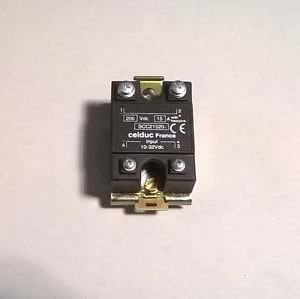 Celduc Solid State Relay SCC21520 10-32Vdc DIN RAIL