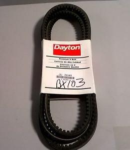 "DAYTON 3VU45 Bx103 COGGED V-Belt 106"""