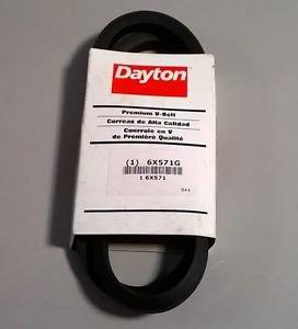 "Dayton Premium VBelt Industrial Compressor Motor Belt 6x571g 1/2"" x 47"" B44"