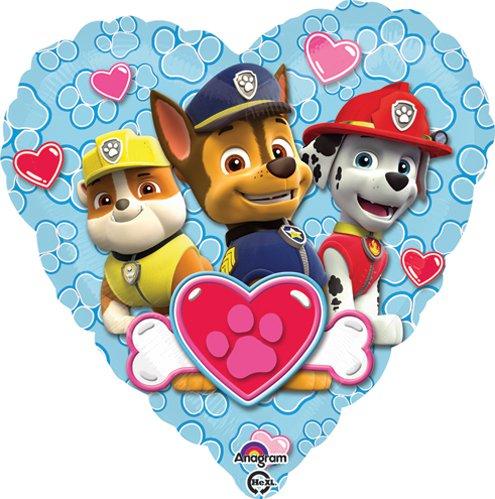 Paw Patrol Love for Boy Balloon