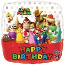 Mario Bros Birthday
