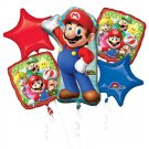 Mario Bros Bouquet of Balloons