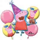 Peppa Pig  Bouquet of Balloons