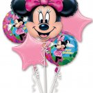 Minnie Mouse Bouquet of Balloons