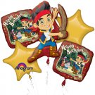 Jake and the Neverland Pirates Bouquet of Balloons