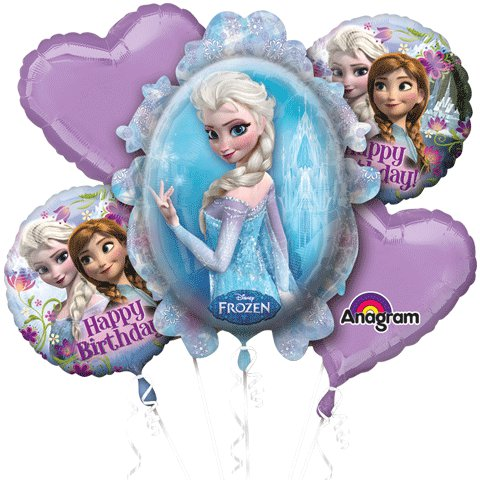 Frozen Bouquet of Balloons