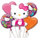 Hello Kitty Bouquet of Balloons