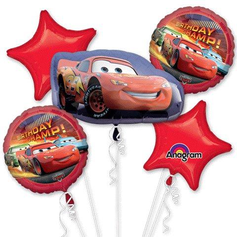 Lightning McQueen Bouquet of Balloons