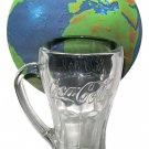 Libbey Coca Cola Coke Clear Glass Mug With Handle