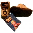 BUSTER BROWN BOB THE BUILDER TAN WORK BOOTS INFANT SIZE  6 (NEW)