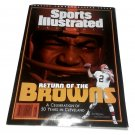 Cleveland Browns 1999 Sept 1, 1999 Sports illustrated