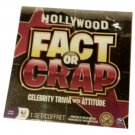 HollyWood Fact or Crap Celebrity Trivia with Attitude (New)