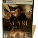 Empire Total War Games For Window PC & DVD (New)