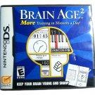 Brain Age 2 NiBrain Age 2 Nintendo DSntendo DS