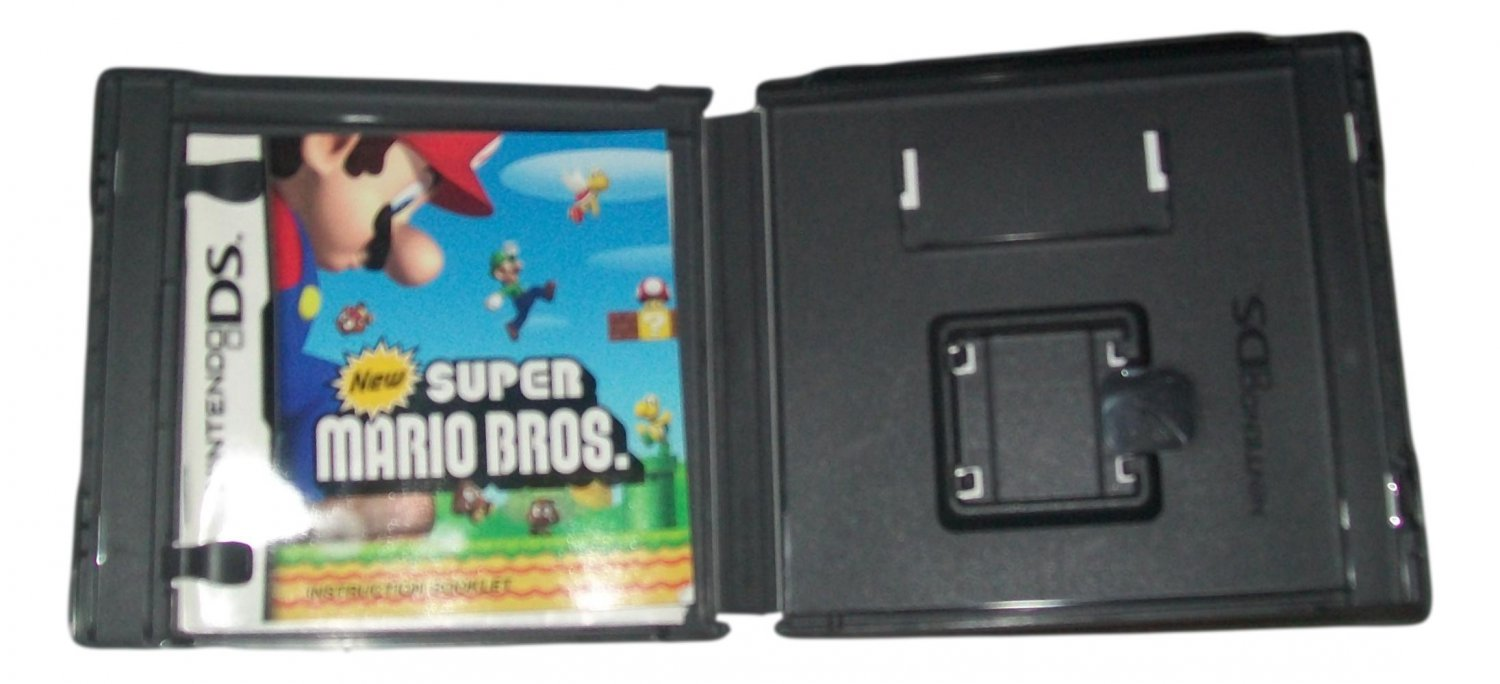 New Super Mario Bros. Nintendo DS. CASE AND MANUAL ONLY
