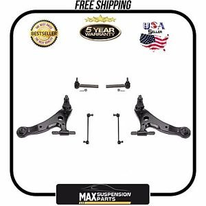 Lower Control Arm with bushing Ball Joint TIE RODS $5 YEARS WARRANTY$