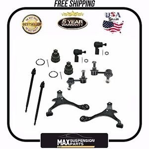 Lower Control Arms Ball Joints Sway Bar Links Tie Rods Civic $5 YEARS WARRANTY$