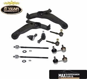 Mitsubishi Outlander Inner and Outer Control Arms Tie Rods Sway Bar Links