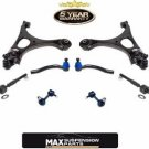 06-2011 Civic SI 2.0L (2) L & R Control Arms Ball Joints Tie Rods 8Pc KIT