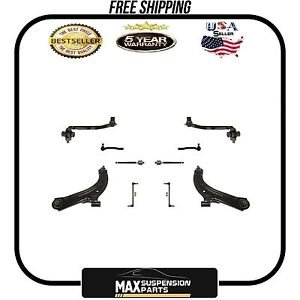 Versa Front Lower Control Arms, TIE Rods AND Links $5 YEARS WARRANTY$