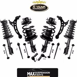 Front & Rear Strut Coil Spring Assembly  Suspension Kit 1997-2001 Camry 4cyl