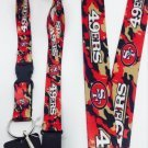 NFL San Francisco 49ers Clip On Lanyard Key chain (Camo color