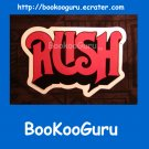 NEW, RUSH Sticker, Vinyl Cutout, Canadian Power Trio, 2112, Moving Pictures, Neil Peirt, BooKooGuru