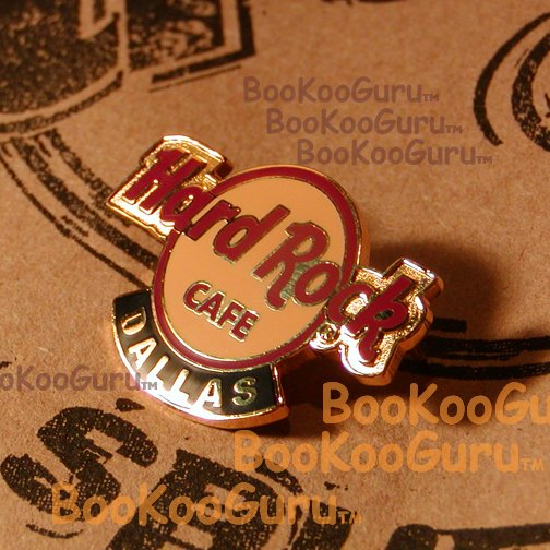 Hard Rock Cafe Dallas Texas - Logo Pin - Torn Down - Very Rare! BooKooGuru