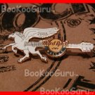 Hard Rock Cafe  Dallas Texas - Pegasus Guitar Pin - Limited Edition 500 ! BooKooGuru