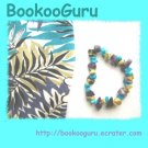 Custom created jewelry,match YOUR CLOTHES. Necklace, earrings, bracelet, or anklet, BooKooGuru
