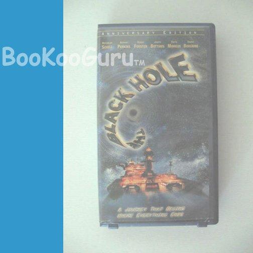 The Black Hole, VHS tape, Anniversary Edition, Very Good, 1999, Maximilian Schell, BooKooGuru