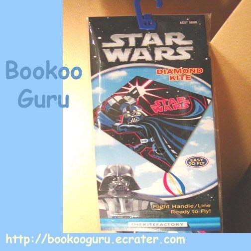 Darth Vader kite - Star Wars - Sealed - New - Collectible, BooKooGuru