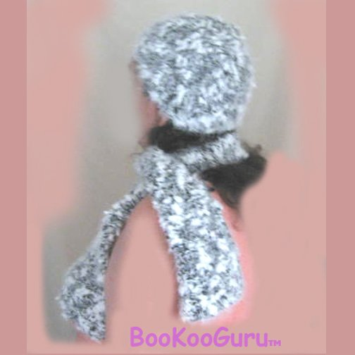 Handmade Knitted Set, Hat and Scarf, One Size fits Most Adults, Warm & Soft, BooKooGuru
