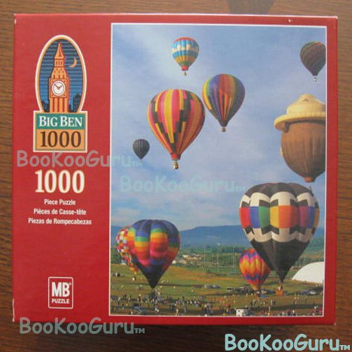 Hot Air Baloons Puzzle, 1000 pc, Big Ben Brand, New, Unopened Box, Nice