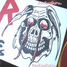 Slayer concert sticker 1996 - Dallas Texas - Metal - Bookooguru