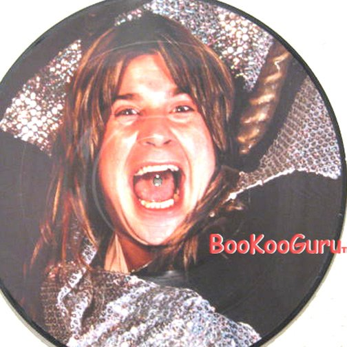 Ozzy Osbourne Picture Disc - E.P.- 33 RPM - Black Sabbath - Family - Randy Rhoads - BooKooGuru