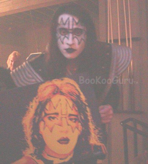 Fiery Ace, Ace Frehley, KISS, Hand-painted original, Acrylics on Canvas, 16x20, BooKooGuru