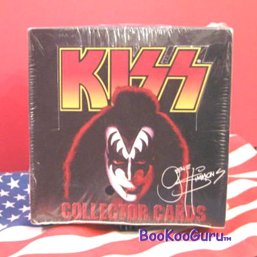 KISS Collector Cards - Series One - Gene Simmons - Sealed Box !