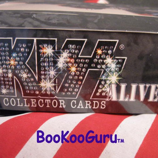 KISS Collector Cards - Alive Series - Ace Frehley - Eric Carr - Sealed Box !